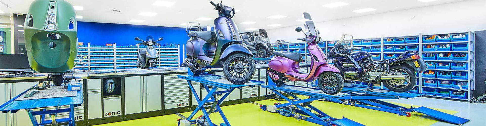 scooter laten ophalen